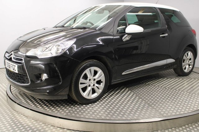USED 2012 61 CITROEN DS3 1.6 E-HDI DSTYLE 3d 90 BHP