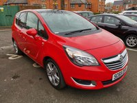 USED 2015 65 VAUXHALL MERIVA 1.4 SE 5d 118 BHP TOP SPEC SE MODEL WITH - PANORAMIC ROOF, PRIVACY GLASS, AIR CONDITIONING, PARKING SENSORS, ALLOY WHEELS AND MAIN DEALER SERVICE HISTORY