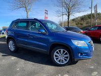 USED 2008 08 VOLKSWAGEN TIGUAN 2.0 SPORT TDI 5d 138 BHP FULL SERVICE HISTORY, PANORAMIC ROOF, 4 WHEEL DRIVE PARKING SENSORS, AIR CONDITIONING, ALLOYS, AUTO LIGHTS