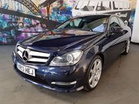 2013 MERCEDES-BENZ C CLASS 2.1 C250 CDI BLUEEFFICIENCY AMG SPORT 2d AUTO 204 BHP