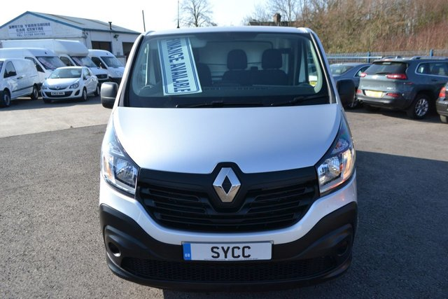 USED 2016 16 RENAULT TRAFIC 1.6 SL27 BUSINESS DCI S/R P/V 5d 115 BHP 6 MONTHS WARRANTY ~ 6 MONTHS BREAKDOWN COVER ~ 12 MONTHS MOT