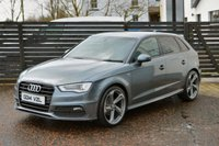 USED 2014 14 AUDI A3 2.0 TDI S LINE SPORTBACK 6 MONTHS RAC WARRANTY FREE + 12 MONTHS ROAD SIDE RECOVERY!