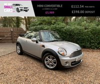 USED 2011 11 MINI CONVERTIBLE 1.6 COOPER D 2d 112 BHP CHILI PACK HALF LEATHER INTERIOR NEW SHAPE £20 PER YEAR TAX