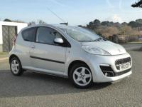 USED 2013 62 PEUGEOT 107 1.0 12v Allure 3dr ZERO TAX..LOW MILEAGE