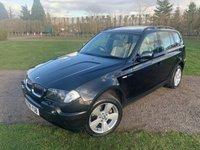 2006 BMW X3 3.0 D SPORT 5d AUTO 215 BHP Full Service History MOT 02/20 £3949.00