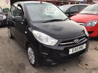USED 2011 11 HYUNDAI I10 1.2 CLASSIC 5d 85 BHP Economical, low tax, low insurance, low mileage, great value.
