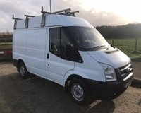 2010 FORD TRANSIT 2.2 300 MEDIUM ROOF SWB  NO VAT VAN 85 BHP £4999.00