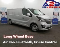 USED 2016 66 VAUXHALL VIVARO 1.6 2900 CDTI SPORTIVE 115 BHP, Long Wheel Base, Air Conditioning, Bluetooth, Cruise Control, Rear Parking Sensors *Over The Phone Low Rate Finance Available*   *UK Delivery Can Also Be Arranged*