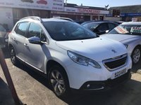 USED 2013 13 PEUGEOT 2008 1.4 HDI ACTIVE 5d 68 BHP Diesel mpv, low road tax, economical, superb.