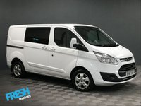 USED 2017 67 FORD TRANSIT CUSTOM 2.0 290 LIMITED L1H1 DCB CREW DCIV * 0% Deposit Finance Available