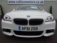USED 2011 61 BMW 5 SERIES 3.0 530D M SPORT 4d AUTO 242 BHP