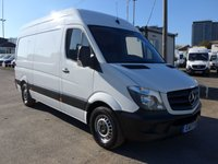 2017 MERCEDES-BENZ SPRINTER 314CDI LWB, 140 BHP [EURO 6], LOW MILES, 1 COMPANY OWNER £SOLD