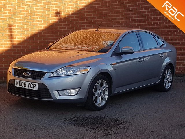 2008 08 FORD MONDEO 2.0 ZETEC TDCI 5d 140 BHP HALF LEATHER SPORTS INTERIOR