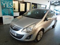 USED 2011 11 VAUXHALL CORSA 1.2 EXCITE AC 3d 83 BHP The Mot runs till January 2020, we will carry out the advisory notice repairs!. It will be supplied with a service, 6 months RAC warranty (extendable) and 12 months RAC Breakdown assist. Finance and extended warranties are available. This Corsa has been well looked after by its owners and is excellent throughout.