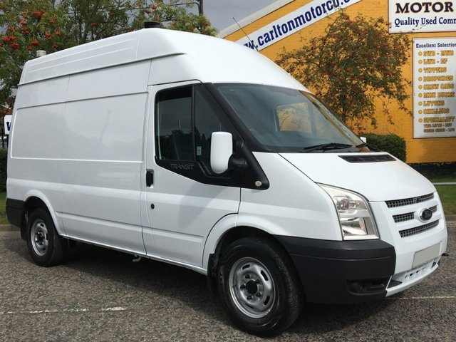2012 62 FORD TRANSIT 2.2 T350M [ MOBILE WORKSHOP ] HIGH ROOF VAN TDCi 125 RWD