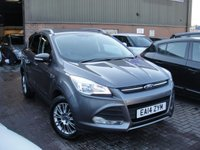 USED 2014 14 FORD KUGA 2.0 ZETEC TDCI 5d 138 BHP ANY PART EXCHANGE WELCOME, COUNTRY WIDE DELIVERY ARRANGED, HUGE SPEC