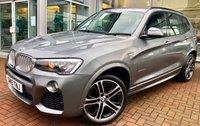 USED 2015 15 BMW X3 3.0 XDRIVE30D M SPORT 5d AUTO 255 BHP