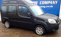 2009 FIAT DOBLO 1.9 JTD ACTIVE H/R 5d 120 BHP WHEEL CHAIR ACCESS £3299.00