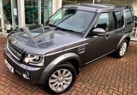 USED 2015 15 LAND ROVER DISCOVERY 4 3.0 SDV6 COMMERCIAL XS 5 DOOR AUTO 255 BHP