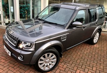 2015 LAND ROVER DISCOVERY 4 3.0 SDV6 COMMERCIAL XS 5 DOOR AUTO 255 BHP £21500.00