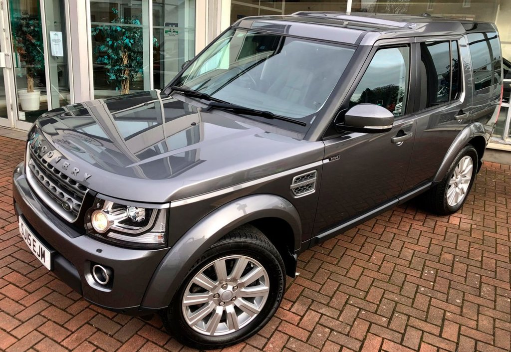 bff86345c92f0f 2015 15 LAND ROVER DISCOVERY 4 3.0 SDV6 COMMERCIAL XS 5 DOOR AUTO 255 BHP