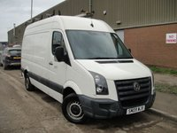 USED 2009 09 VOLKSWAGEN CRAFTER 2.5 35 MWB TDI 1d 108 BHP ANY PART EXCHANGE WELCOME, COUNTRY WIDE DELIVERY ARRANGED, HUGE SPEC