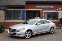 USED 2012 12 MERCEDES-BENZ CLS CLASS 3.0 CLS350 CDI BLUEEFFICIENCY 4d AUTO 265 BHP 2 OWNERS FSH! COMMAND! LOVELY!