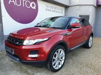 USED 2013 13 LAND ROVER RANGE ROVER EVOQUE 2.2 SD4 PURE 3d 190 BHP