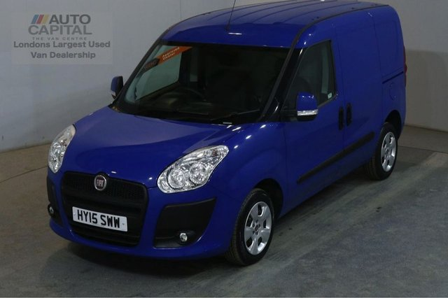 2015 15 FIAT DOBLO 1.2 16V SX MULTIJET 90 BHP AIR CON START STOP VAN AIR CONDITIONING START STOP