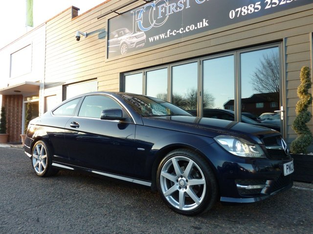 2012 12 MERCEDES-BENZ C CLASS 2.1 C220 CDI BLUEEFFICIENCY AMG SPORT ED125 2d AUTO 170 BHP