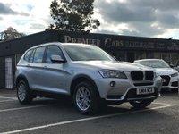 USED 2014 BMW X3 2.0 XDRIVE20D SE 5d 181 BHP