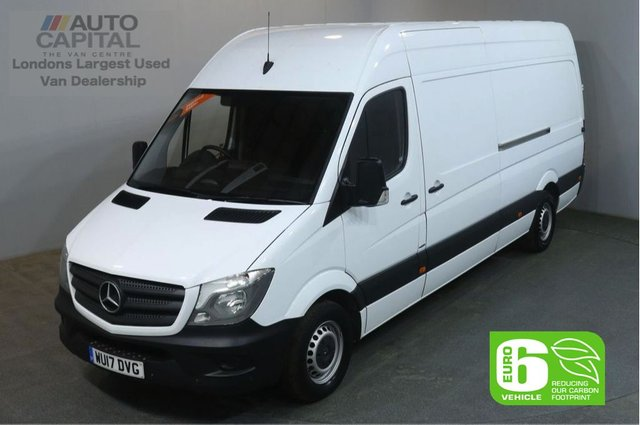 2017 17 MERCEDES-BENZ SPRINTER 2.1 314CDI 140 BHP LWB H/ROOF EURO 6 PANEL VAN FRONT AND REAR PARKING SENSORS