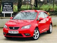 2013 SEAT IBIZA 1.4 TOCA 3d 85 BHP £4995.00
