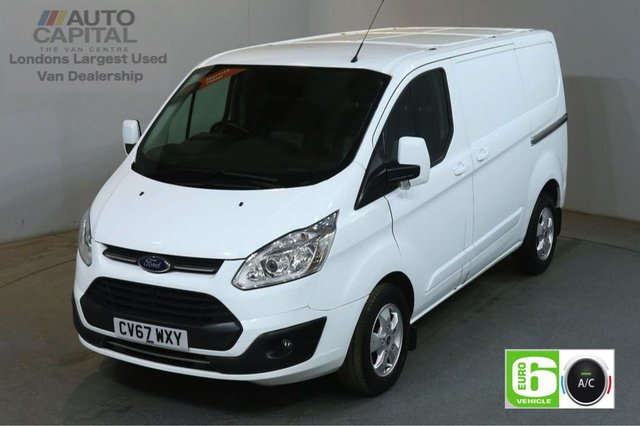 2017 67 FORD TRANSIT CUSTOM 2.0 290 LIMITED 130 BHP L1 H1 SWB EURO 6 AIR CON VAN