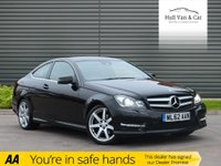 USED 2012 62 MERCEDES-BENZ C-CLASS 2.1 C250 CDI BLUEEFFICIENCY AMG SPORT 2d AUTO 204 BHP SAT NAV, BLUETOOTH,1/2 LEATHER