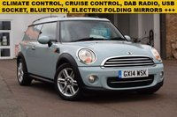 USED 2014 14 MINI CLUBVAN 1.6 COOPER D 1d 110 BHP Just £7999 + vat buys you this pale pastel blue 2014 Mini Clubvan 1.6D Cooper with 68000 miles. 1 keeper with records for 4 services.