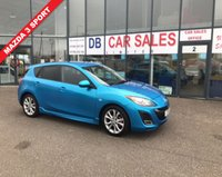 USED 2011 11 MAZDA 3 1.6 SPORT 5d 105 BHP NO DEPOSIT AVAILABLE, DRIVE AWAY TODAY!!