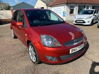 USED 2007 57 FORD FIESTA 1.4 ZETEC CLIMATE 16V 5d 80 BHP MAIN DEALER SERVICE HISTORY WITH 10 STAMPS IN THE BOOK