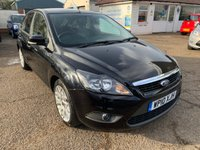 USED 2010 10 FORD FOCUS 1.6 ZETEC 5d 100 BHP UPGRADE ALLOYS / PRIVACY GLASS / EXCELLENT HISTORY WITH 8 STAMPS IN THE BOOK