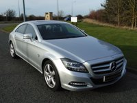 2012 MERCEDES-BENZ CLS CLASS 3.0 CLS350 CDI BLUEEFFICIENCY 4d AUTO 265 BHP £13990.00