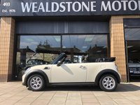 USED 2015 15 MINI CONVERTIBLE 1.6 ONE 2d [PEPPER PACK] 98 BHP