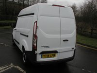 USED 2014 14 FORD TRANSIT CUSTOM 2.2 310 LWB H/R Van - SOLD Only 44000 miles, 1 Owner from New
