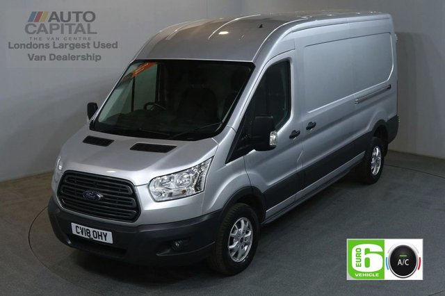 2018 18 FORD TRANSIT 2.0 350 130 BHP TREND L3 H2 LWB M/ROOF AIR CON EURO 6 VAN AIR CONDITIONING EURO 6