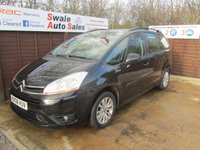 USED 2008 08 CITROEN C4 GRAND PICASSO 1.8 VTR PLUS 16V 5d 124 BHP FINANCE AVAILABLE FROM £30 PER WEEK OVER TWO YEARS - SEE FINANCE LINK FOR DETAILS