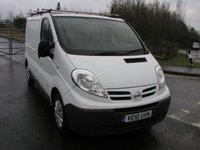USED 2010 10 NISSAN PRIMASTAR 2.0 SE SWB DCI 1d 115 BHP Van - NO VAT 66000 miles, Service History, Ply Lined
