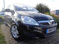 2010 VAUXHALL ZAFIRA 1.6 EXCLUSIV 5d 113 BHP £2989.00