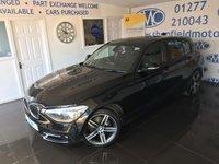 2014 BMW 1 SERIES 2.0 116D SPORT 5d 114 BHP £9295.00