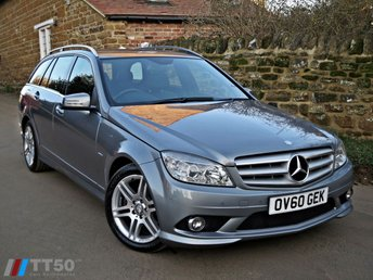 2010 MERCEDES-BENZ C CLASS 2.1 C220 CDI BLUEEFFICIENCY SPORT 5d AUTO 170 BHP £6490.00