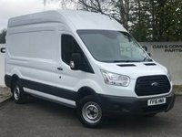 USED 2016 16 FORD TRANSIT 350 RWD 2.2 125 BHP L3 H3**OVER 70 VANS IN STOCK**