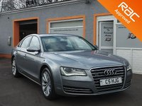USED 2011 61 AUDI A8 3.0 TDI QUATTRO SE EXECUTIVE 4d AUTO 250 BHP Incredible Value, 7 Service Stamps, 19 inch alloys, Keyless Entry, DVD player